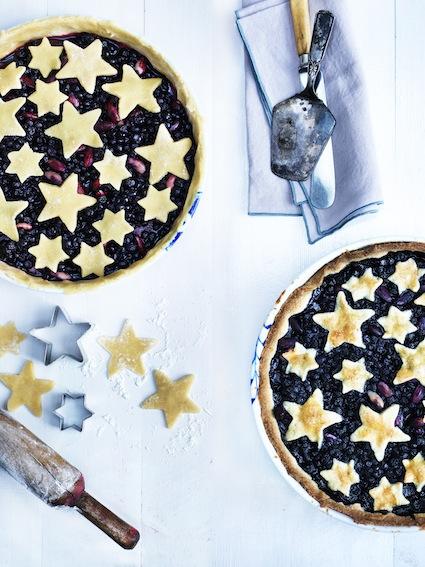 Blåbær pie før og efter 02