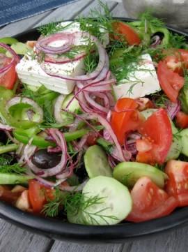 italiensk salat opskrift
