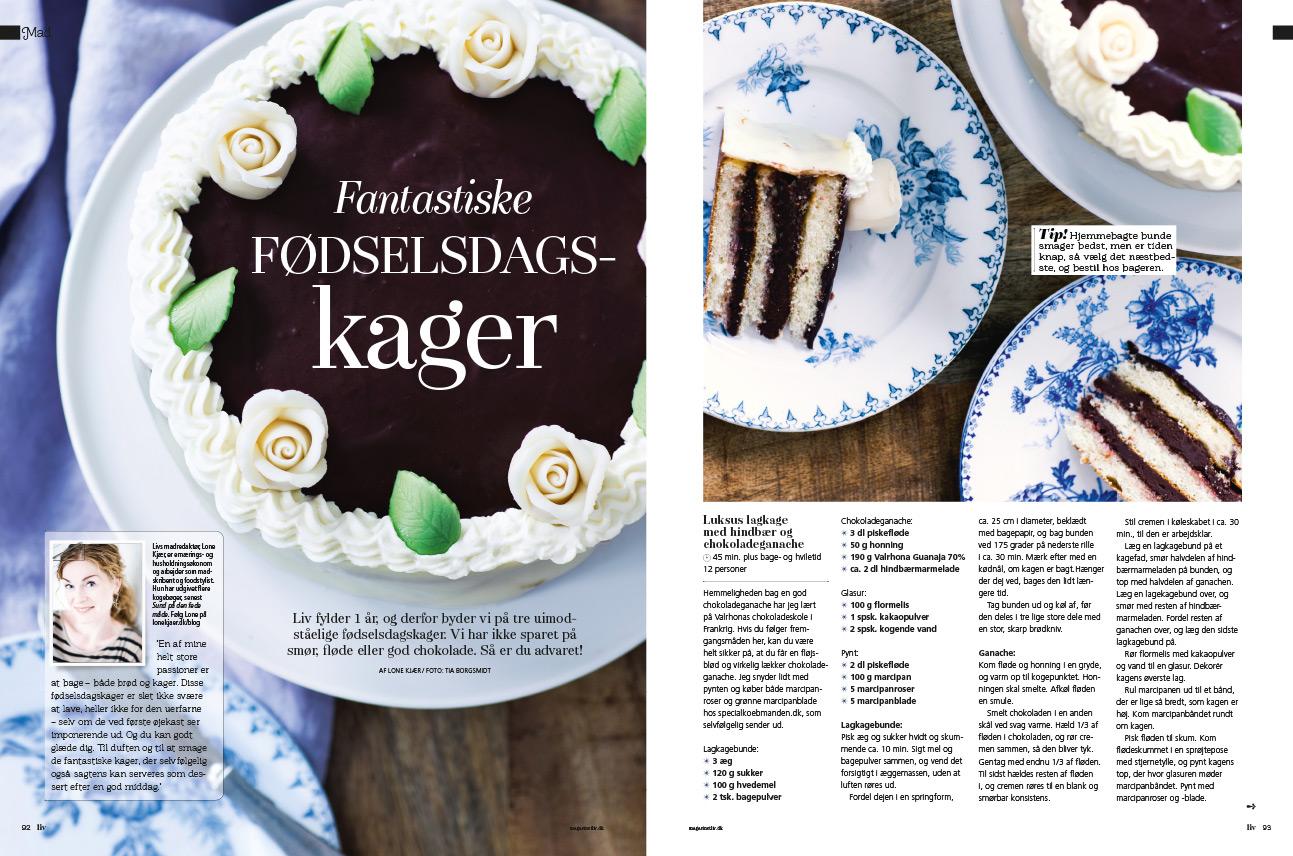 Magasinet LIV - Fotograf Tia Borgsmidt