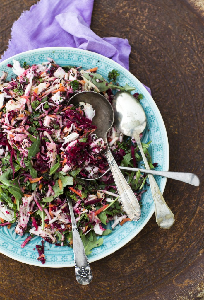 SUND-salat med rodfrugter